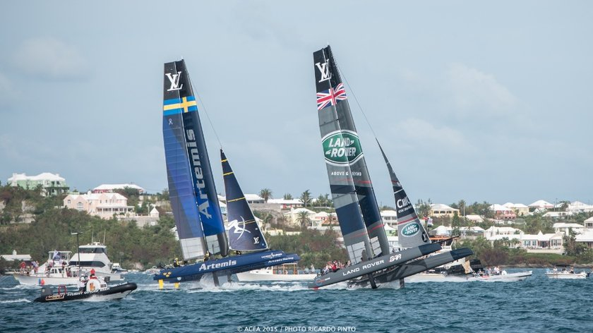 Artemis & BAR in America's Cup World Series Bermuda