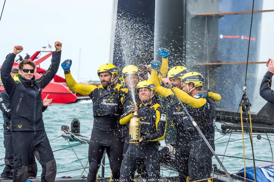 Artemis Wins America's Cup World Series Chicago