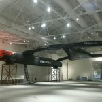 """America's Cup Winner """"USA 17"""" AC72 at Mariners' Museum"""