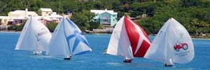 Bermuda fitted dinghies racing