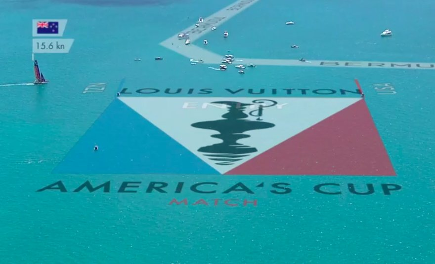 Louis Vuitton America's Cup Match logo